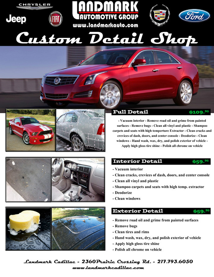 Landmark Auto Outlet Custom Detail Retail Springfield
